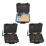 DHL shipping+48 Channel fireworks firing system+300M Remote+2400cues transmitt