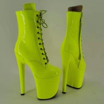 Leecabe Green Pole Dance hight boot