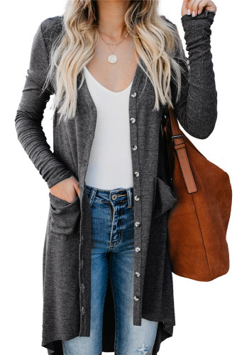 Dark gray Cardigan jacket