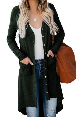Dark green Cardigan jacket
