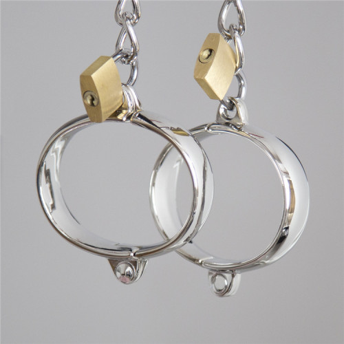 Fun alloy handcuffs with lock