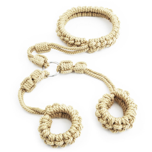Cotton linen Tied hemp rope
