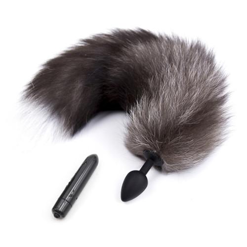 Vibrator + fun tail