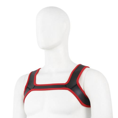 Red Shoulder strap clothes