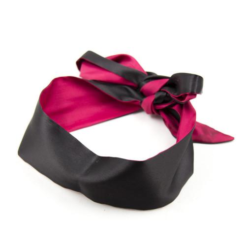 Black+Red Blindfold mask