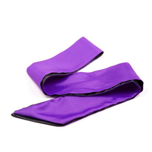 Violet+Black Blindfold mask