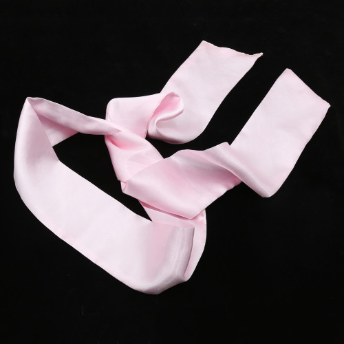 Pink Blindfold mask