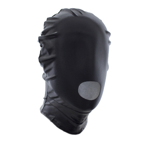 Black Slip-on patent leather hood