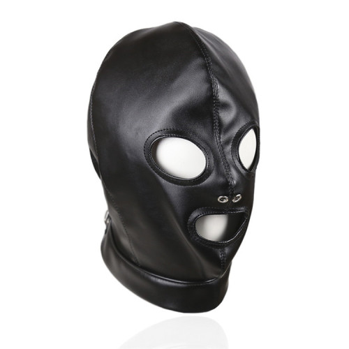 Eye mask with nostrils