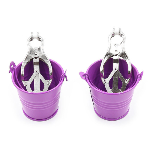 Violet Bucket fun milk clip