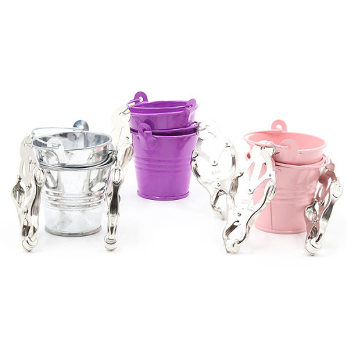 Pink Bucket fun milk clip