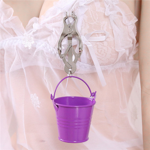 Violet Bucket fun milk clip