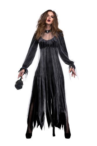 Ghost Bride Zombie Costume