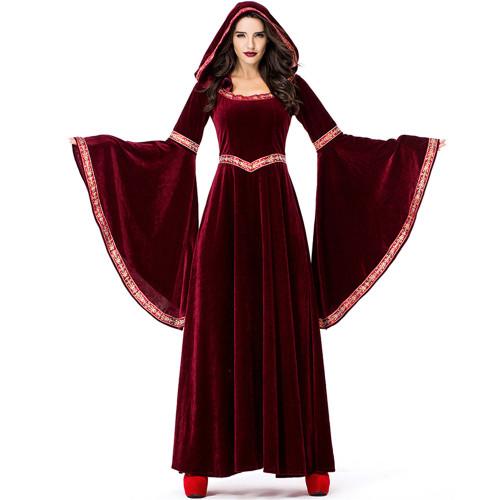 Burgundy Wizard Costume