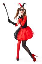Hero villain character harley costume