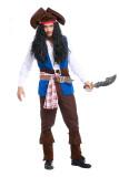 Men's Pirate Captain Jackie Costume