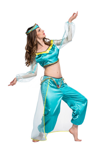 Magic lamp arab cosplay women's clothing