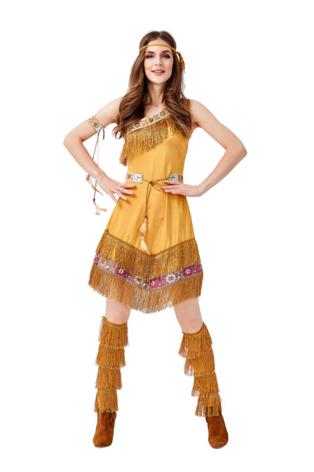 Tassel Indian Princess Costume