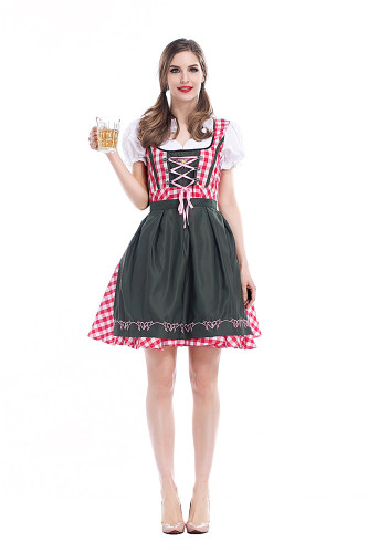 Bavarian traditional beer dress