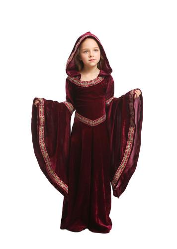 Wine Red vampire Children's clothing