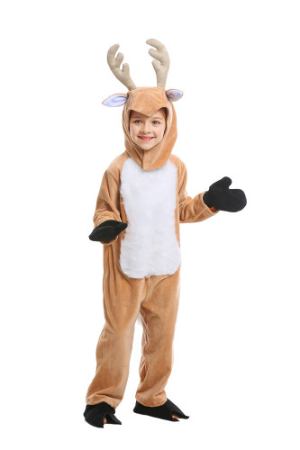 Christmas reindeer costume for children