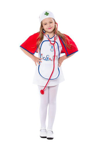 Children's day nurse costume