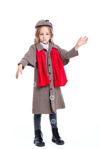 Detective cosplay costume