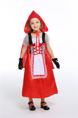 Little Red Riding Hood Cosplay Costume