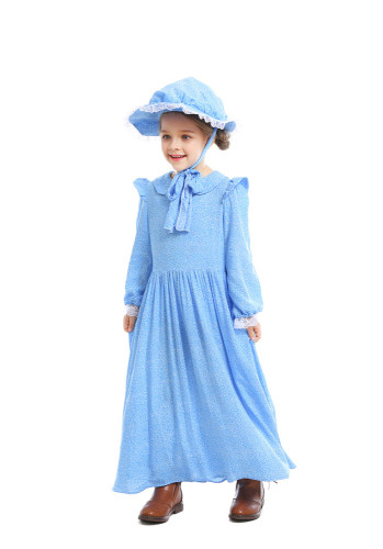 Girl's rural style stage play costume