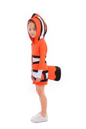 Clown fish costume
