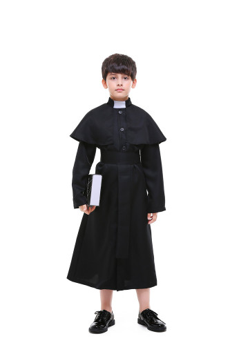 Child Church Priest Role Playing