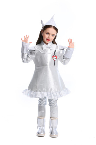 Girls Iron Man Drama Costume