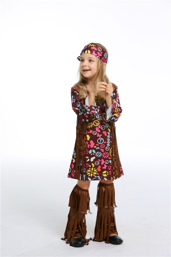 Savage indigenous cospaly costume