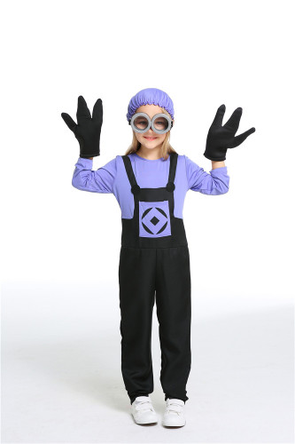 Evil poison cartoon character costume