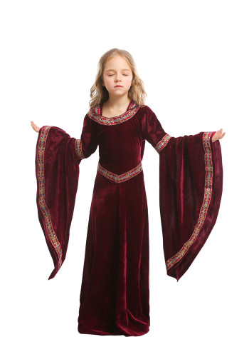 Wine Red vampire Children's clothing