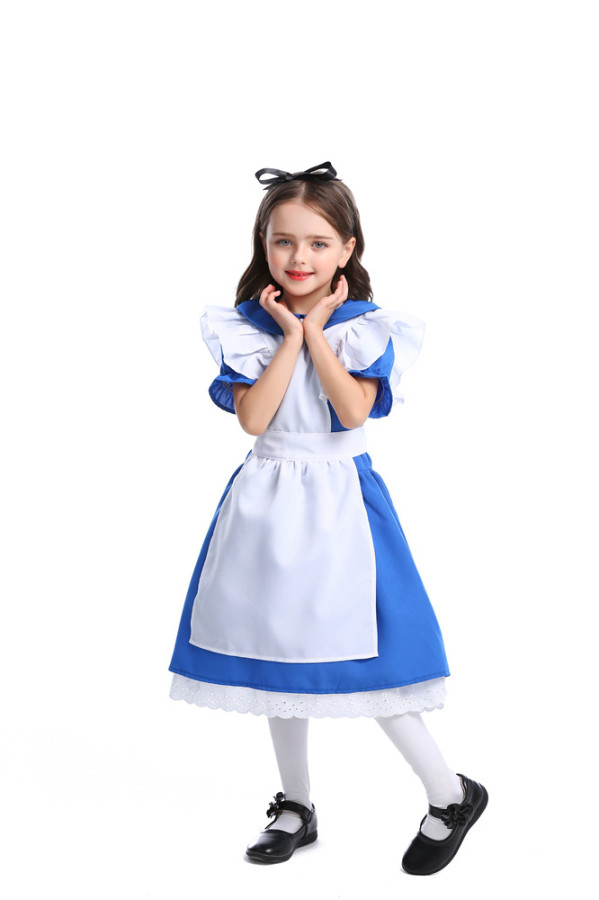 Alice in Wonderland Maid Outfit