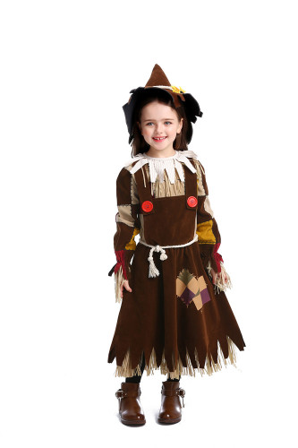 The Wizard of Oz Straw Doll Drama Stage Costume