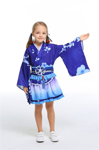 Bule Yukata cosplay daily clothes