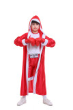Red Children's boxing match costume Excluding gloves