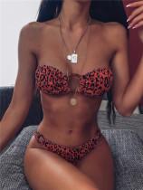Orange Split bikini