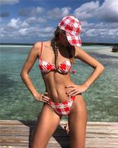 Underwire split swimwear two-piece bikini