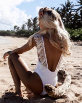 One Piece Bikini Lace Swimsuit