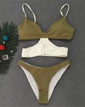 Green Beach wear bikini