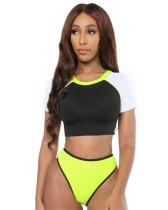 Sexy Half Sleeve Bikini
