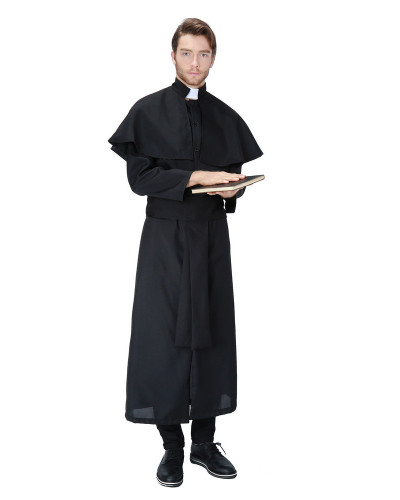 Male missionary priest suit