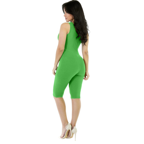 Green Fashion Sports Overalls