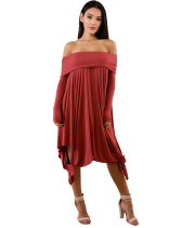 Rose Red Sexy plus size dress