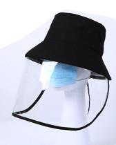 Isolation mask fisherman hat