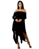 Black Sexy plus size dress