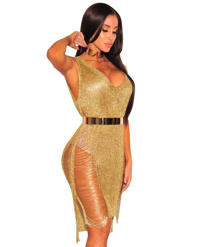 Golden Sexy dress